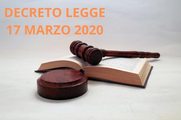 Decreto Legge del 17 marzo 2020